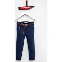 U.S. Polo Assn. Kız Çocuk Demy Pantolon Lacivert