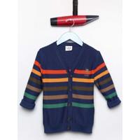 U.S. Polo Assn. Erkek Çocuk Steve Hırka Lacivert