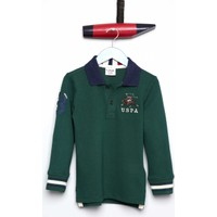 U.S. Polo Assn. Erkek Çocuk Sd01Sk7 Sweatshirt Yeşil