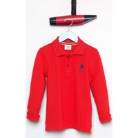 U.S. Polo Assn. Erkek Çocuk Tp01Sk7 Sweatshirt Kırmızı