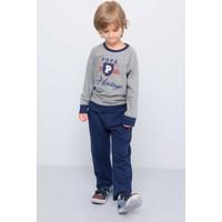 U.S. Polo Assn. Erkek Çocuk Werro Sweatshirt Gri