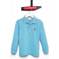 U.S. Polo Assn. Erkek Çocuk Yetko Sweatshirt Mavi