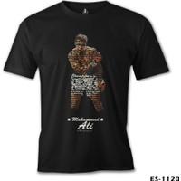 Lord T-Shirt Muhammad Ali - Hard Punch Siyah Erkek T-Shirt