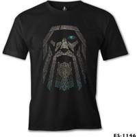 Lord T-Shirt Vikings - Odin Siyah Erkek T-Shirt