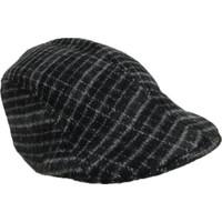 Outlet Çarşım Erkek Çizgili Kasket Şapka