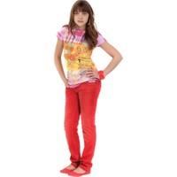 Puledro Kids Kız Çocuk Pantolon GY-4203