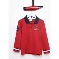 U.S. Polo Assn. Erkek Çocuk Sd01Sk7 Sweatshirt Kırmızı