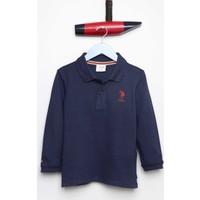 U.S. Polo Assn. Erkek Çocuk Tp01Sk7 Sweatshirt Lacivert
