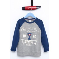 U.S. Polo Assn. Erkek Çocuk Huber Sweatshirt Gri