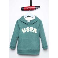 U.S. Polo Assn. Erkek Çocuk Jaxelsk7 Sweatshirt Yeşil