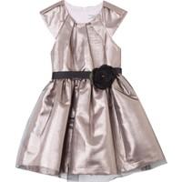 Goose Kız Çocuk Tül Kaplı Simli Elbise