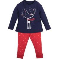 İdil Baby Geyikli Pijama Takımı