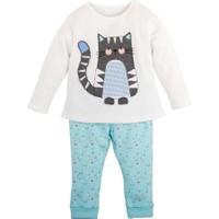 İdil Baby Kedi Baskılı Pijama Takımı