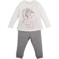 İdil Baby Şapkalı Kız Pijama Takımı