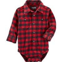 Oshkosh Erkek Bebek Gömlek Body Yılbaşı 13141010