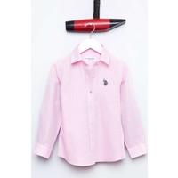 U.S. Polo Assn. Kız Çocuk Gips17K Gömlek Pembe