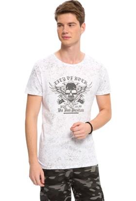 LC Waikiki Erkek Bisiklet Yaka T-Shirt