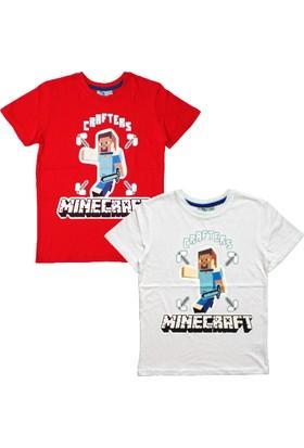 DobaKids Minecraft Crafters Baskılı Tişört