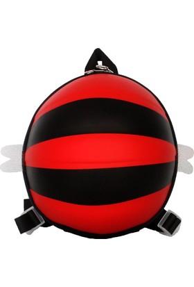 Tagger Bal Arısı Desenli Günlük Çocuk Sırt Çantası Kırmızı