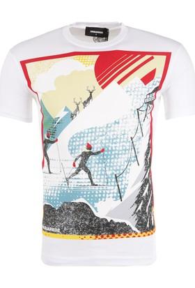 Dsquared2 Erkek T-Shirt S74Gd0276S22427