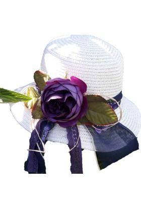 Shecco Babba Kız Çocuk Şapkası Aksesuarları El Yapımı 7- 12 Yaş