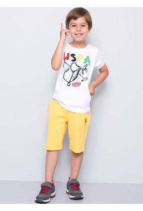 U.S. Polo Assn. Erkek Çocuk Filip Şort Sarı