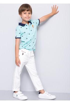 U.S. Polo Assn. Erkek Çocuk Jesser T-Shirt Yeşil