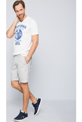 U.S. Polo Assn. Erkek Rico T-Shirt Bej
