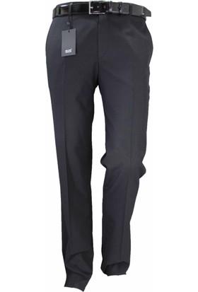 Mr.Gün Erkek Pantolon Siyah Klasik Kesim 83120