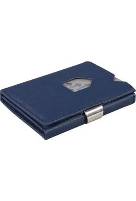 Exentrı Saffiano Blue Kartlık