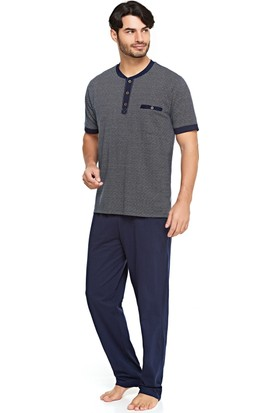 Çift Kaplan 8007 Erkek Pijama Takım