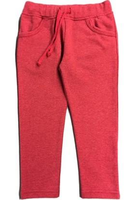Karamela Çocuk Pantolon Kırmızı Melanj