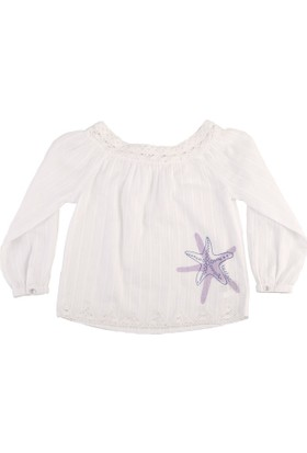 Tuc Tuc Çocuk Bluz Shelly Beyaz
