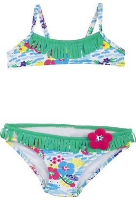 Tuc Tuc Desenli Bikini Isla Bonita Yeşil Desenli
