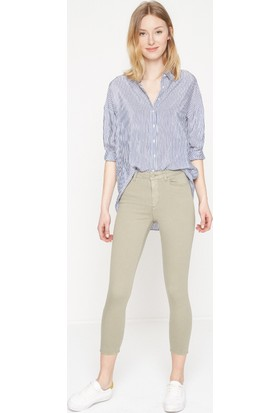 Koton Kadın Ultra Stretch Pantolon Yeşil