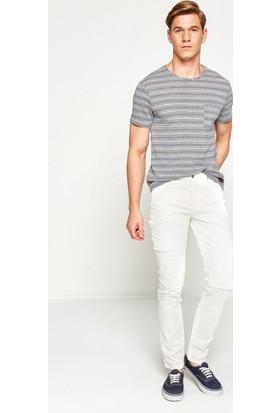 Koton Erkek Skinny Pantolon Beyaz