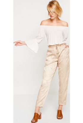 Koton Kadın Pantolon Sarı