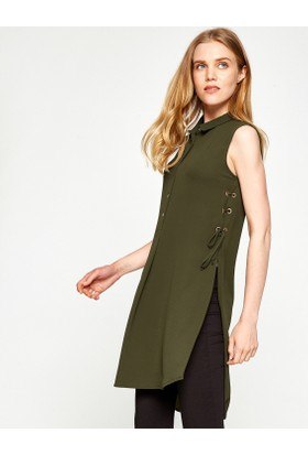 Koton Kadın Tunik Yeşil