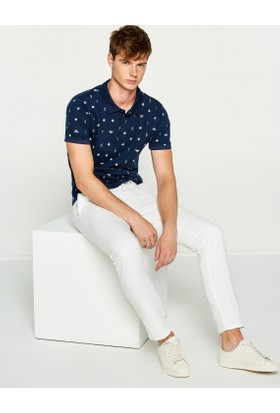 Koton Erkek Klasik Pantolon Beyaz