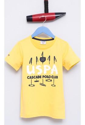 U.S. Polo Assn. Erkek Çocuk Dean T-Shirt Sarı