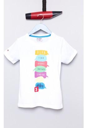 U.S. Polo Assn. Erkek Çocuk Tonia T-Shirt Beyaz