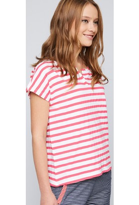 U.S. Polo Assn. Kadın Getlo Polo T-Shirt Pembe
