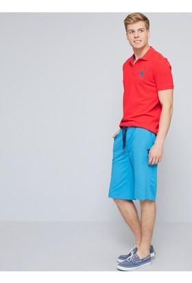 U.S. Polo Assn. Erkek Dusty Şort Mavi