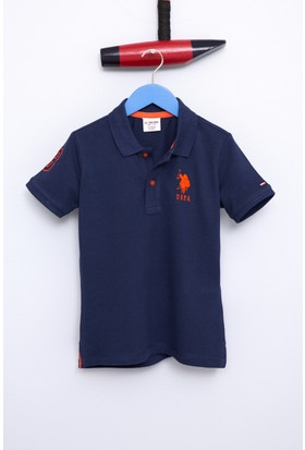 U.S. Polo Assn. Erkek Çocuk Edt01Iy7 T-Shirt Lacivert