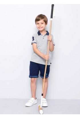 U.S. Polo Assn. Erkek Çocuk Esd01Iy7 T-Shirt Gri