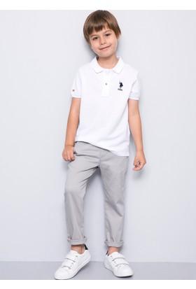 U.S. Polo Assn. Erkek Çocuk Etp01Iy7 T-Shirt Beyaz