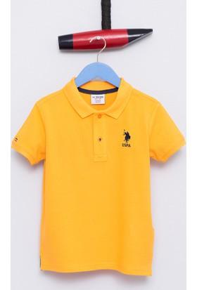 U.S. Polo Assn. Erkek Çocuk Etp01Iy7 T-Shirt Hardal
