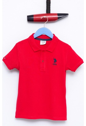 U.S. Polo Assn. Erkek Çocuk Etp01Iy7 T-Shirt Kırmızı