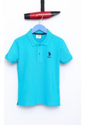 U.S. Polo Assn. Erkek Çocuk Etp01Iy7 T-Shirt Mavi
