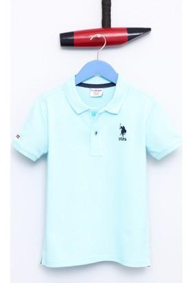U.S. Polo Assn. Erkek Çocuk Etp01Iy7 T-Shirt Mint